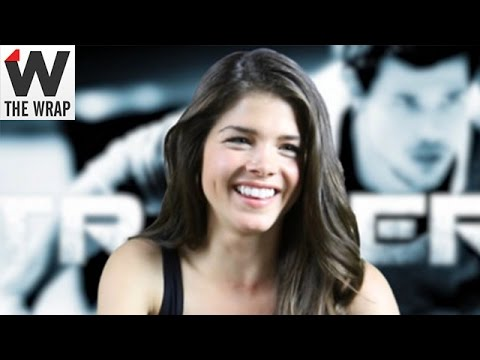 Marie Avgeropoulos on 'Tracers' CoStar Taylor Lautner: 'He Came Out of the Womb' With Action Skills