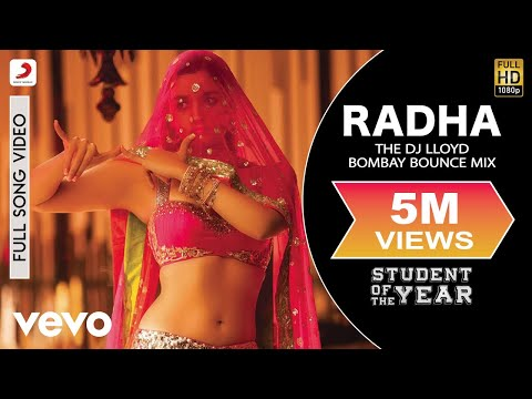 Radha (Remix) - Student of the Year | Alia|Sidharth | Varun | Karan Johar