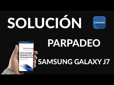 Cómo Arreglar Parpadeo al Cargar Samsung Galaxy J7