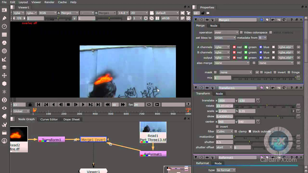 04 -Compositing Free Nuke Software Training Tutorial