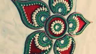 Easy Rangoli Designs , Rangoli Beautiful and Easy Design for Diwali