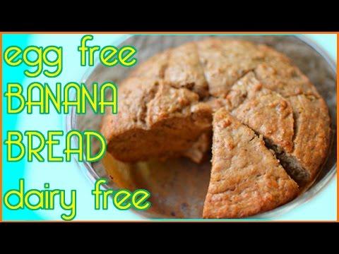 Banana Bread - Egg Free & Fat Free - Moist