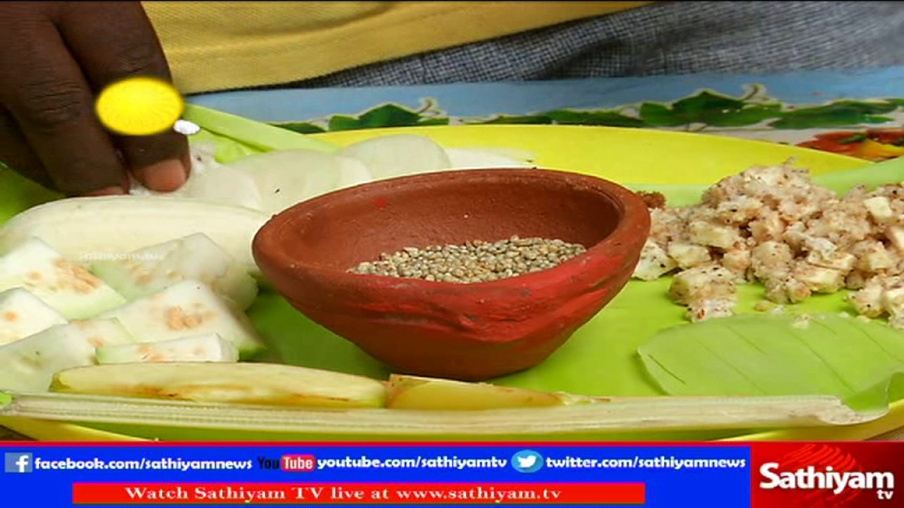 Cooking without a stove - Vidiyal Puthusu Dr Prabhakaran Explains About Cooking Without Stove And Natural Foods 03 03 17