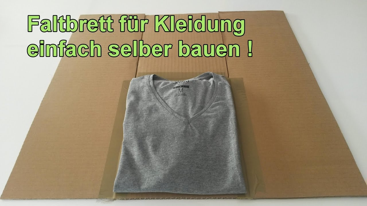 faltbrett f r t shirts hemden selber machen w sche. Black Bedroom Furniture Sets. Home Design Ideas