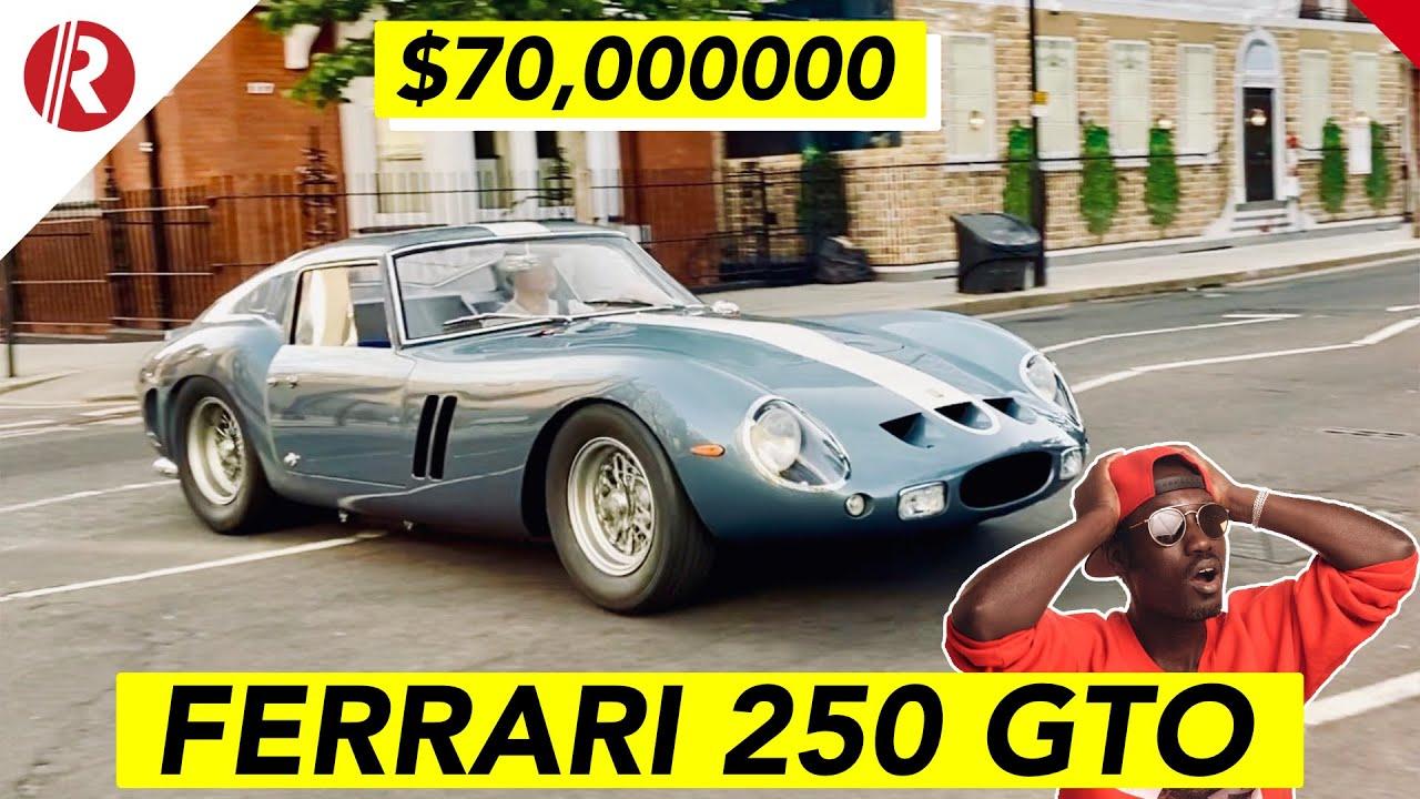 70 Million Plus Ferrari 250 Gto Driving In London Most Expensive Car Youtube