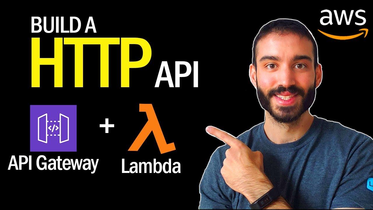 AWS API Gateway to Lambda Tutorial in Python | Build a HTTP API (2/2)
