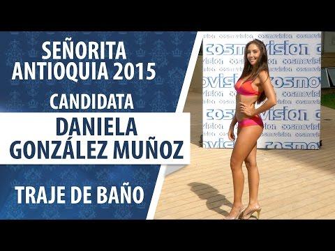 Daniela González Muñoz / Candidata a Señorita Antioquia 2015 / Traje de Baño
