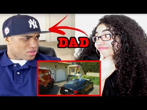 MY DAD REACTS TO Lil Pump  ESSKEETIT  Music  REACTION