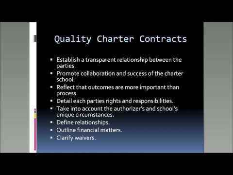 Negotiating a Charter Contract