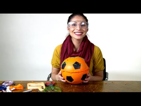 Light-Up Soccer Ball | Design Squad