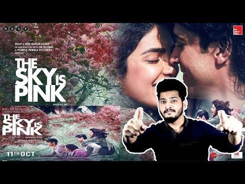 The Sky Is Pink - Official Trailer Pakistan Reaction | Priyanka C J, Farhan A, Zaira W, Rohit S