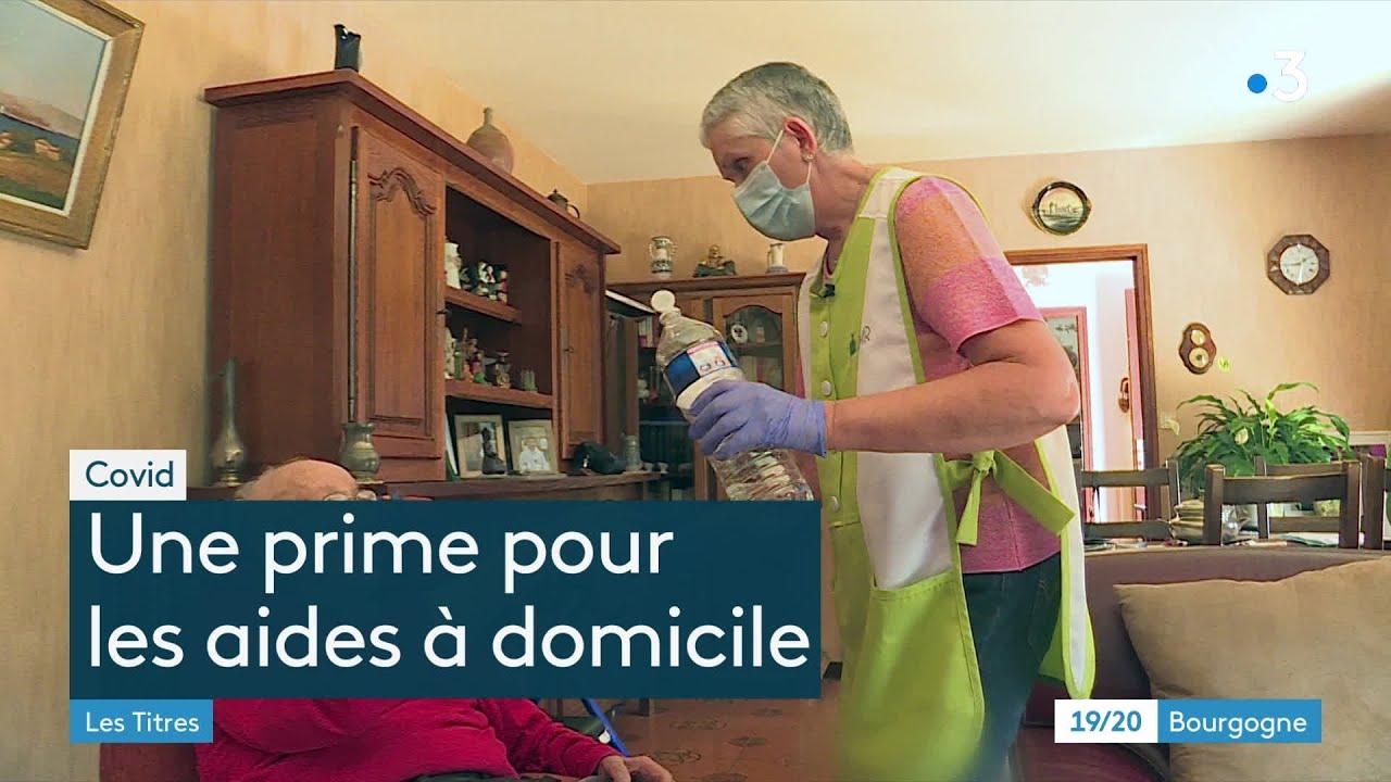Prime Covid : enfin la reconnaissance pour les aides à domicile