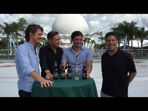 Hanson Interview for Epcot Food & Wine Festival 2014 -  Music, Mmmhops, Favorite Disney Attraction