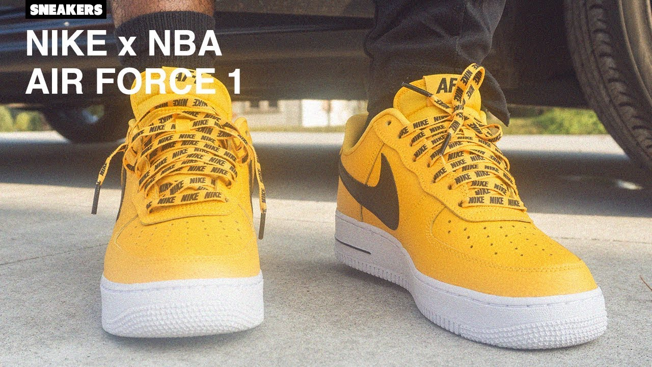 I Told You So.. NIKE x NBA Air Force 1 Review + On Foot - YouTube