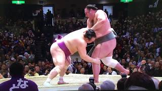 January 2018 - Day 11 - Highlights featuring Tochinoshin