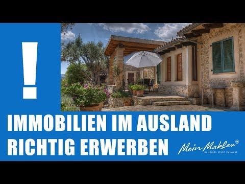 Immobilien Im Ausland Richtig Erwerben