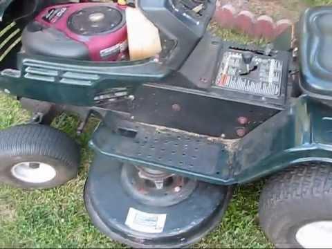 Mtd Lawn Mower Belt Diagram Fender Jaguar Hh Wiring 2003 Bolens By - Youtube
