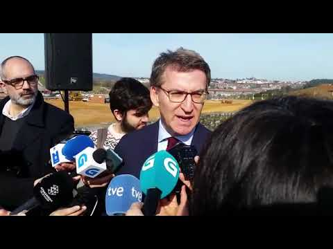 """Feijóo: """"Sánchez acaba de paralizar España ata xuño"""""""