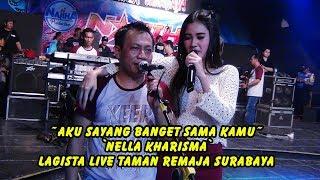aku sayang banget sama kamu nella kharisma lagista live taman remaja surabaya