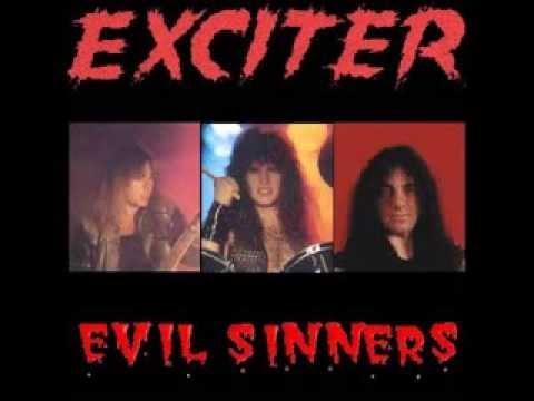 Exciter - Evil Sinners (Barrymores,Ottawa Live 1984 Bootleg CD)