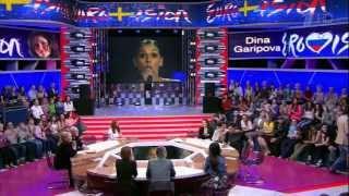 """Алсу в программе """"Сегодня вечером"""", Eurovision 2013"""