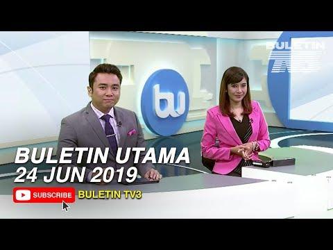 Buletin Utama (2019) | Isnin, 24 Jun