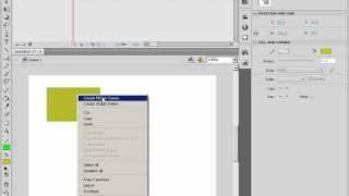 3D графические возможности трансформации в Adobe Flash (23/46)