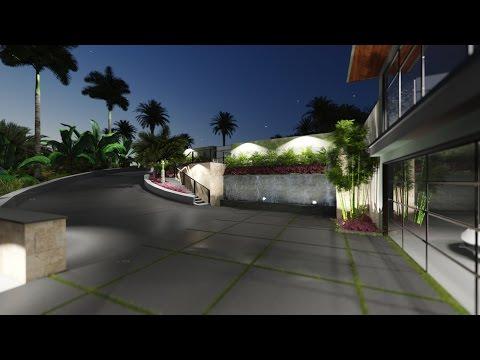 SketchUp + Lumion - Hawaii Residence