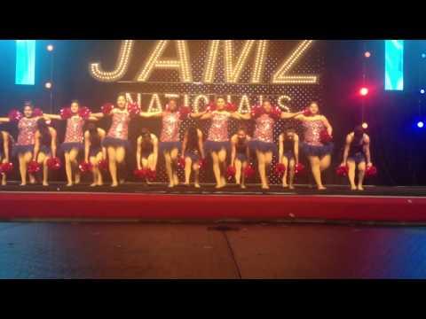 Kerman Seniors Vegas Pom 2015