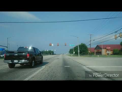 Driving From Carlisle To Mechanicsburg, Pennsylvania