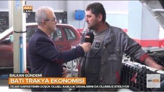 Bat Trakya 39 Daki Ekonomik Kriz Esnaf Da Zor Durumda B Rak Yor Balkan Gundemi Trt Avaz