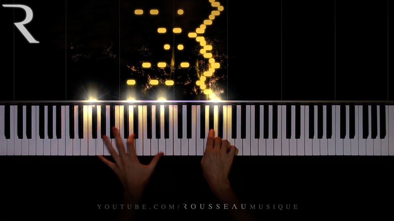 Classical piano music comes alive with light visualizations