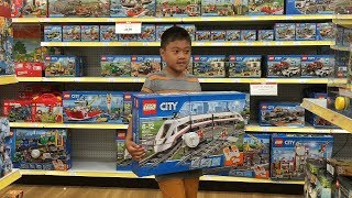 """Toys""""R""""Us Lego High Speed RC Train and Max from The Secret Life of Pets"""
