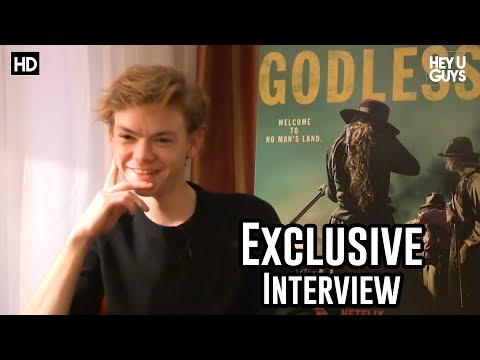 Thomas BrodieSangster talks Godless, The Maze Runner, Game of Thrones & Star Wars