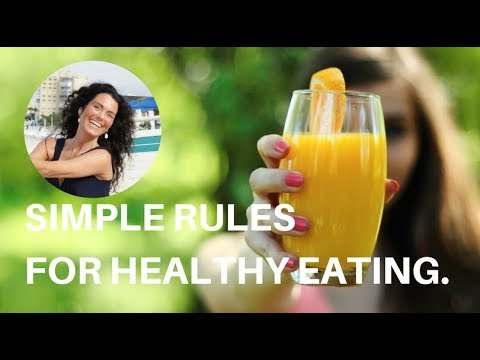 The Simple Rules for HEALTHY eating.