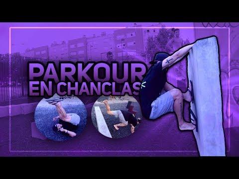 PARKOUR EN CHANCLAS DE PLAYA 😱 - Parkour Challenge #5