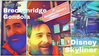 Riding the Breckenridge Gondola 🤔👉 Disney Skyliner?