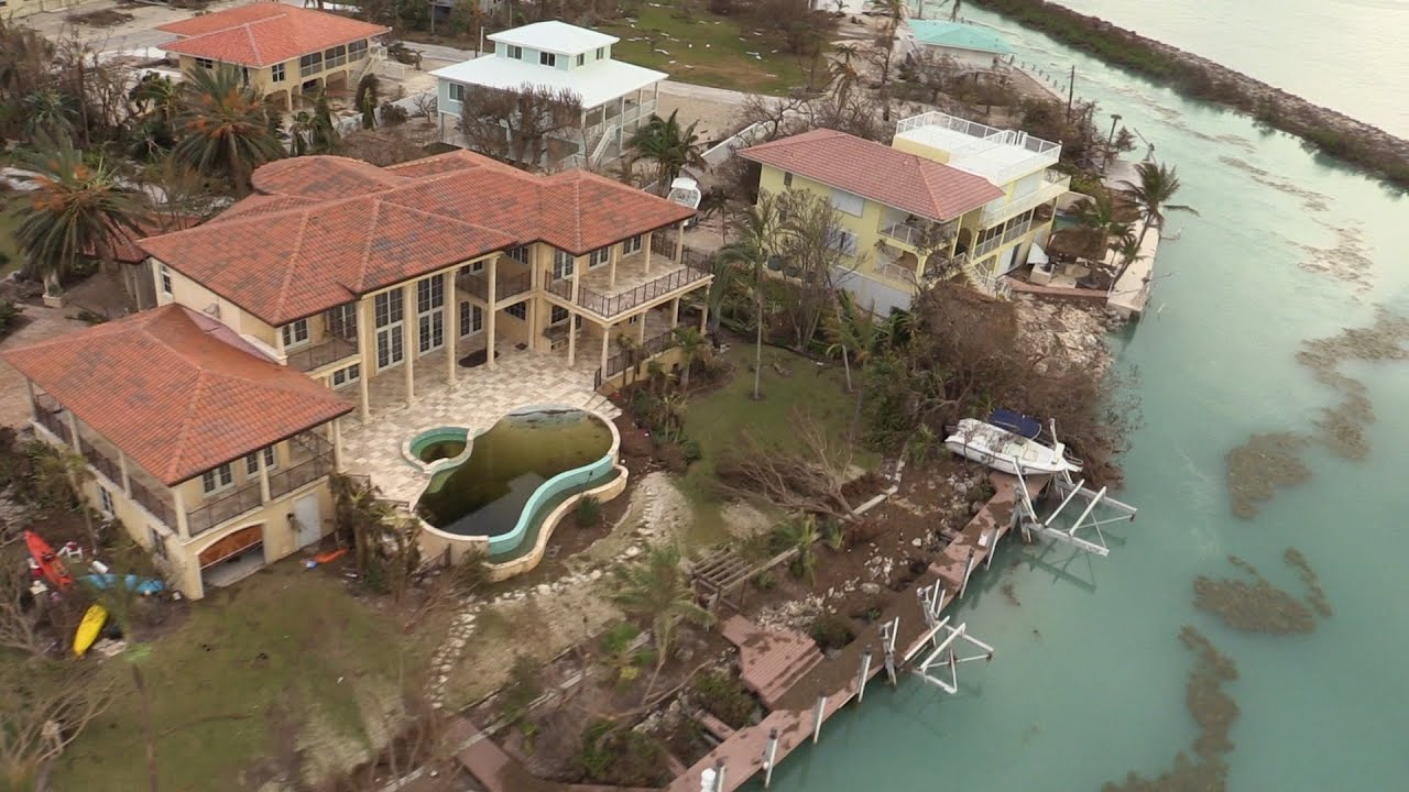 An Aerial Look At Hurricane Irma S Damage To The Florida