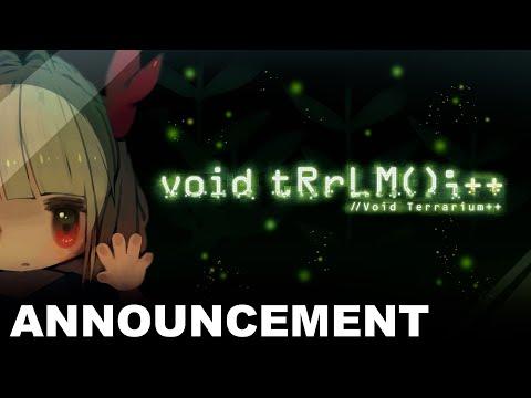 Void Terrarium++ - Announcement Trailer (PS5)