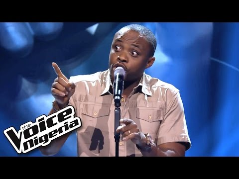 Cornel sings 'When A Woman Loves' / Blind Auditions / The Voice Nigeria 2016