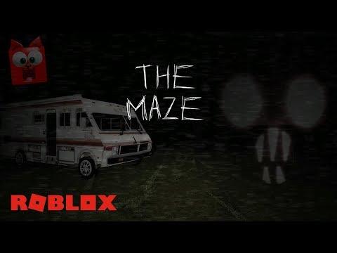 Пытаюсь пройти СТРАШНЫЙ лабиринт роблокс | The Maze Roblox | Побег от ужасного монстра. Хоррор