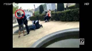 bruxelles 2 jeunes tabassés bavure (video des coups de tete du policier choc a voir