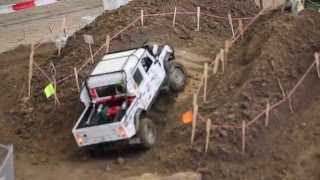 RC Crawler Parcours & Land Rover Scale