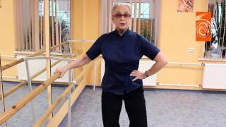 Видео курс по народному танцу  1 Выпуск  Веревочка