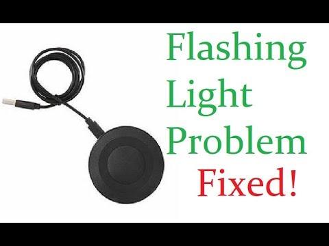 Onn Wireless Charging Pad Blinking Light Fix Youtube