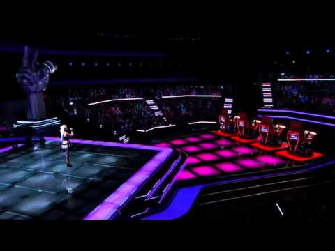 Allison Bray - Merry Go Round | The Blind Audition | The Voice 2014