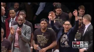 Jeremy Lin 2017-02-011 on Nets VS Heat