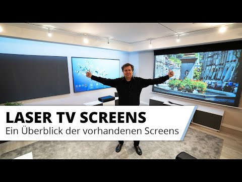 Laser TV Screens - Kaufberatung Laser TV Kontrast Leinwand