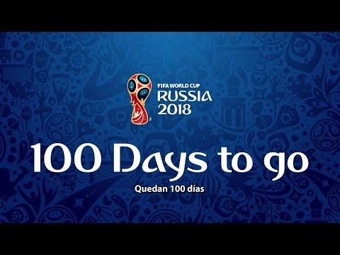 ¡Que ruede el balón! Ya solo quedan 100 días para el Mundial de Rusia 2018