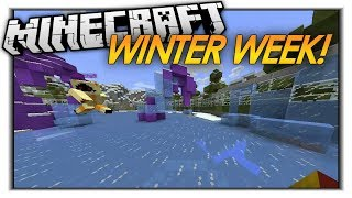 Minecraft: WINTER WEEK IS HERE! Updates + More